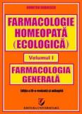 Farmacologie homeopată (ecologică) - Vol. 1