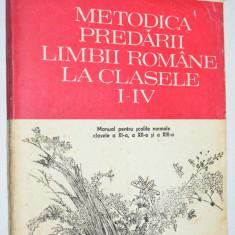 Metodica predarii limbii romane la clasele I- IV Ioan Serdean 1993