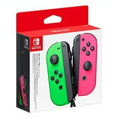 Pereche Joy-Con NINTENDO Switch NSW, neon green/ pink