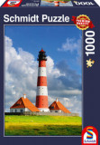 Cumpara ieftin Puzzle Westerhever Lighthouse, 1000 piese