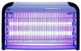Aparat UV antiinsecte profesional Sanico IK206, 2 x 15 W, Raza de actiune 80 mp (Gri/Negru)