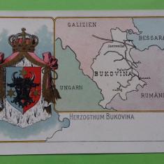 Litografie Bukowina Bucovina, Necirculata, Printata