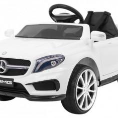 Masinuta electrica Mercedes AMG GLA 45, alb