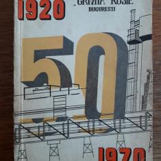 Monografia Grupului Scolar Grivita Rosie  50 ani / R3P2F
