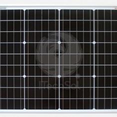 Panou solar fotovoltaic monocristalin 50W | 12V