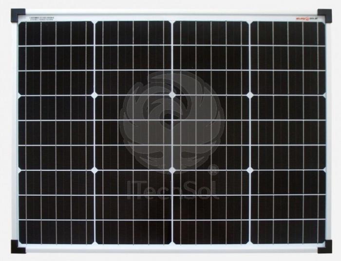 Panou solar fotovoltaic monocristalin 50W   12V