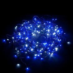 Instalatie de Craciun, 200 leduri Albastru