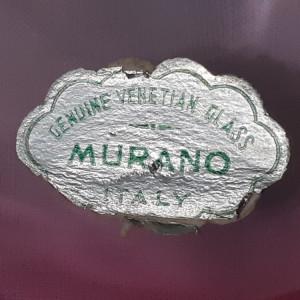 Centru de masa cristal masiv Venețian Murano