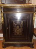 Cabinet/comoda Napoleon III/BOULLE,originala, antica,sec XIX, 1m H