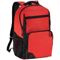 Rucsac Laptop, Everestus, RH, 15.6 inch, 600D poliester, rosu, saculet de calatorie si eticheta bagaj incluse