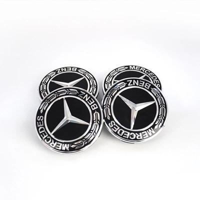 Capace jante aliaj Mercedes diametru 75mm set 4 buc foto