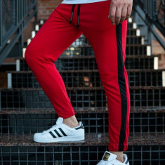 Pantaloni trening bărbați roșu Bolf 11120