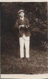 Student roman cu pusca de vanatoare 1926 Transilvania