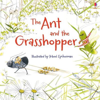 The Ant and the Grasshopper (MFRL) - Usborne Book (3+) foto