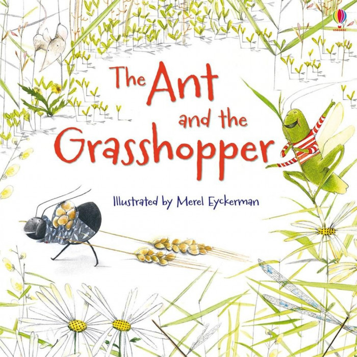 The Ant and the Grasshopper (MFRL) - Usborne Book (3+)