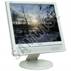 "Monitor LCD Philips 19"" 190B, Grad A, 1280 x 1024, 8ms, DVI, VGA, Cabluri..."