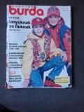 REVISTA BURDA NR.10/1993, TEXT IN LIMBA MAGHIARA