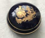 Cutie bijuterii - port. franțuzesc - Limoges - Fragonard - aur 24K