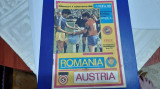 program      Romania   -  Austria   CE juniori