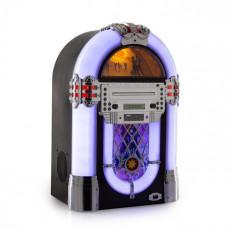 Auna Kentucky, jukebox, BT, radio FM, USB, SD, MP3, CD player, alb