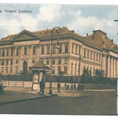 4077 - CRAIOVA, Justice Palace, Tribunalul, Romania - old postcard - used - 1910, Circulata, Printata