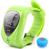 Ceas Smartwatch GPS Copii iUni U11,Telefon incoporat, Alarma SOS, Green + Boxa Cadou
