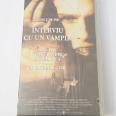 Caseta video VHS originala film tradus Ro - Interviu cu un Vampir