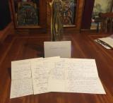 Manuscris 10 pagini CONSTANTIN NOICA (cu semnătura filosofului)