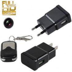 Camera Spion Incarcator de priza USB   1080P