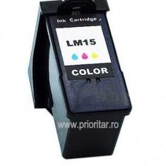 Cartus COLOR LEXMARK-15 18C2110 LEXMARK15 18C2110 compatibil TRICOLOR, Multicolor