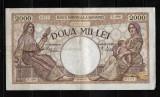 ROMANIA - BANCNOTA 2 000 2000 LEI 18 NOIEMBRIE 1941(2)