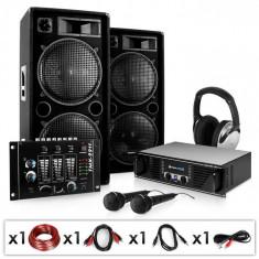 Electronic-Star Block Party, sistem audio PA, amplificator