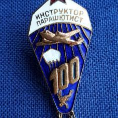 Insigna Parasutism - Aviatie - Rusia - 125 de salturi