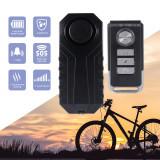 Alarma cu telecomanda antifurt bicicleta, trotineta electrica, scuter, 6 tonuri
