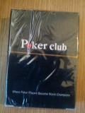 Carti de Joc Poker Club plastificate 100%