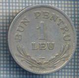 """AX 703 MONEDA- ROMANIA - 1 LEU ,,BUN PENTRU"""" -ANUL 1924 -STAREA CARE SE VEDE"""