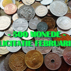 500 MONEDE DIFERITE STRAINE+ ROMANESTI = DE LA 1 LEU:  LICITATIE LUNA FEBRUARIE!, Europa