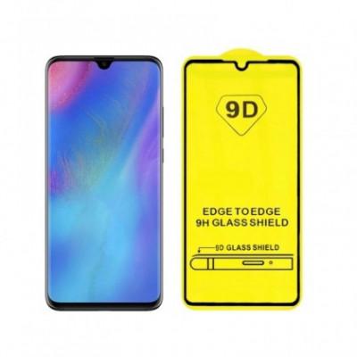 Folie Protectie ecran antisoc , Full Glue , Samsung A750 Galaxy A7 2018 , Tempered Glass 10D , Full Face , Neagra Bulk foto