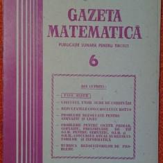 Gazeta matematica nr 6 din 1987