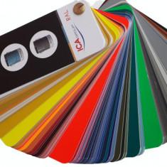 Paletar de culori tip evantai RAL, 198 culori