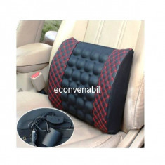 Perna Masaj Spate cu Vibratii pentru Autoturism 12V Bo Long