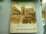 ARCHITECTURAL RECOR NR.2/1970 (REVISTA ARHITECTURA)