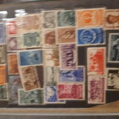 Vand  clasor cu timbre anii  intregi 1953,1954,1955