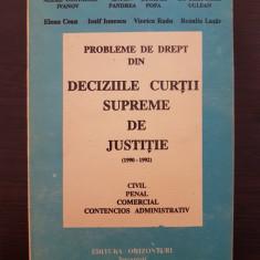DECIZIILE CURTII SUPREME DE JUSTITIE 1990-1992 - Pastor