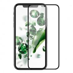 Folie Sticla Apple iPhone XR Flippy 4D/5D Negru