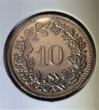Elvetia 10 rappen 1939