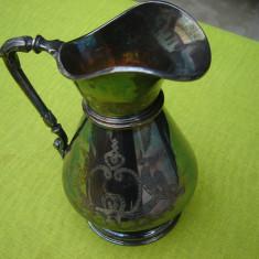 Deosebita carafa argintata, provenienta suedeza