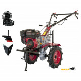 Motocultor Weima WM 1100C - 6 Viteze + Roti Metalice + Plug Arat + Rarita Fixa