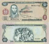 1973 , 2 dollars ( P-58 ) - Jamaica