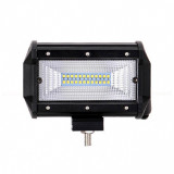 Proiector LED Bar, Off Road, patrat, 72W, 13cm